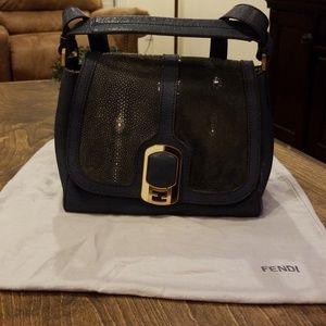b633d99455f2 Fendi Bags - Fendi Anna stingray satchel